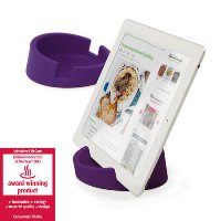 Bosign TABLET STAND/COOKBOOK STAND - for iPad/Tablet PC-Purple