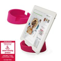 Bosign TABLET STAND/COOKBOOK STAND - for iPad/Tablet PC-Pink