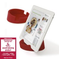 Bosign TABLET STAND/COOKBOOK STAND - for iPad/Tablet PC-Red