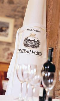 Chateau Pomys Cotton Drill Bib Apron