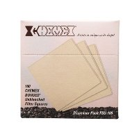 Chemex Unbleached Coffee Filter Squares (FSU-100)