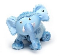 Zoobie Ellema the Elephant 3-in-1 Toy, Pillow & Blanket