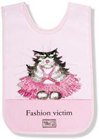Fashion Victim Cat Child's Apron/Smock