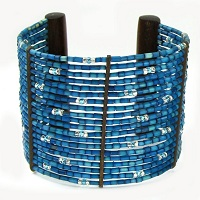 Zulugrass Cuff Lara Bracelet by Leakey Collection
