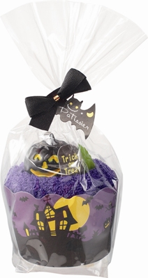Le Patissier Halloween Cupcake Towels Gift Box by Prairie Dog