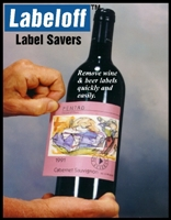 Labeloff Wine Label Savers 100 Pack