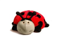 Lilly the Ladybug 3-in-1 Toy, Pillow & Blanket