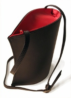 Olbrish Venus Black & Red Handbag (Small)