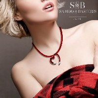 LOVE Heart Necklace by Sabido & Basteris