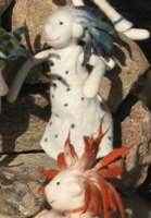 Viecheria Kleinchen Doll - White with Blue Hair