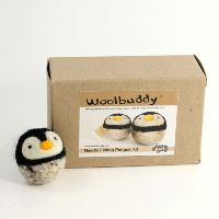 Penguin Needle Felting Kit (Easy) By Woolbuddy