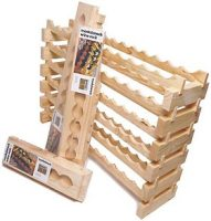 Modularack 72 Bottle Modular Wine Rack (6x12) Natural