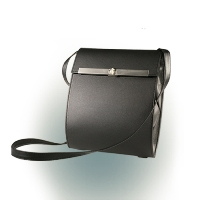 Olbrish Kurier Backpack/Shoulder Bag Small Black