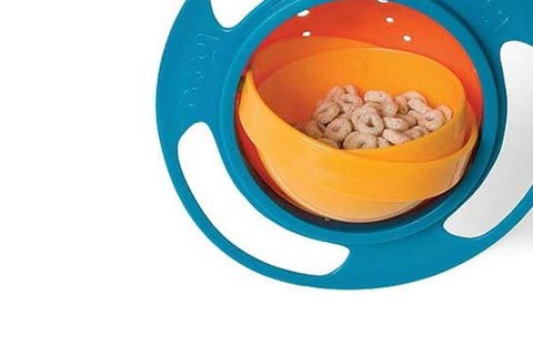 Gravity Bowl loopa spill resistant bowl : products with style - stylish