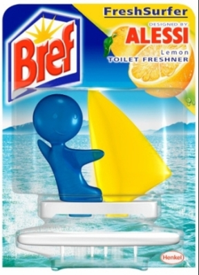 ... Cleaners » Alessi designed BREF FreshSurfer Lemon Toilet Freshener