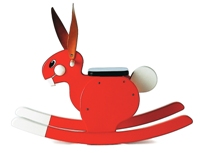 PLAYSAM Rocking Rabbit Red 14449
