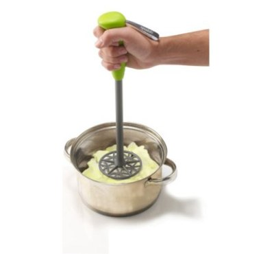 Spudski Potato Masher - Lime