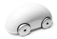 PLAYSAM Streamliner Classic iCar White
