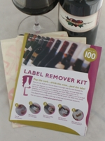 Wine Appeal Wine Label Remover Kit - 100 Pack Collector\'s Set