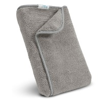 "12"" X 12"" All-Purpose Terry Wiper Cloths - 5 Pack Gray"