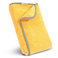 "12"" X 12"" All-Purpose Terry Wiper Cloths - 5 Pack Yellow"